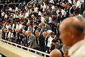 People attend in the annual Memorial Ceremony for the War Dead held at Nippon Budokan studium in Tokyo. 15 August, 2008. (Taro Fujimoto/JapanToday/Nippon News)