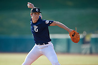 Ethan Wood (29) of Danville High School in Danville, KY during the Perfect Game National Showcase at Hoover Metropolitan Stadium on June 20, 2020 in Hoover, Alabama. (Mike Janes/Four Seam Images)