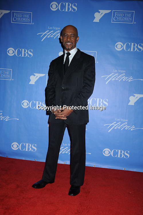 Montel Williams posing in the press room from the Daytime Emmy Awards on June 27, 2010 at the Hilton at Las Vegas in Nevada.