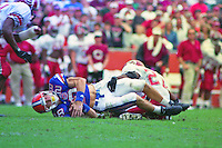 Chris Doering (28),University of Florida Gators defeat the University of South Carolina Gamecocks 48-17 at Ben Hill Griffin Stadium, Florida Field, Gainseville, Florida, November 12, 1994 . (Photo by Brian Cleary/www.bcpix.com)