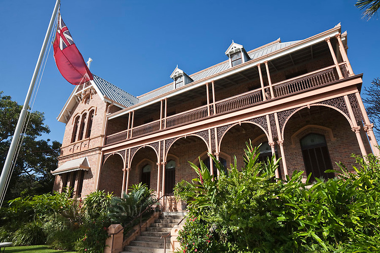 The James Cook Museum.  The heritage building was built in 1889 as a convent.  Cooktown, Queensland, Australia