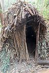 Batwa Pygmy Hut