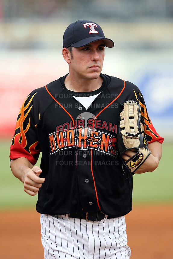 June 12th 2008:  Matt Joyce of the Toledo Mudhens, Class-AAA affiliate of the Detroit Tigers, during a game at Fifth Third Field in Toledo, OH.  Photo by:  Mike Janes/Four Seam Images