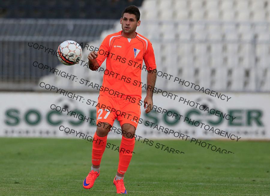 Fudbal  Super League season 2015-2016<br /> Partizan v Spartak (Subotica)<br /> Milan Makaric<br /> Beograd, 08.08.2015.<br /> foto: Srdjan Stevanovic/Starsportphoto&copy;