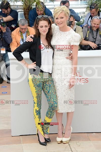 """Kristen Stewart and Kirsten Dunst attending the """"On the Road"""" Photocall during the 65th annual International Cannes Film Festival in Cannes, France, 23rd May 2012...Credit: Timm/face to face /MediaPunch Inc. ***FOR USA ONLY***"""