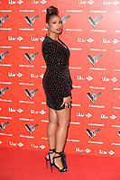 "Jennifer Hudson<br /> at the launch photocall for the 2019 series of ""The Voice"" London<br /> <br /> ©Ash Knotek  D3468  03/01/2019"