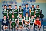 C St Brendans under 12 who were defeated by St Marys in the under 12 final in Cumann Ioseaf, Tralee on Sun day..........