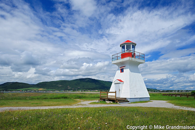 Point Bonaventure Lighthouse<br /> Bonaventure<br /> Quebec<br /> Canada