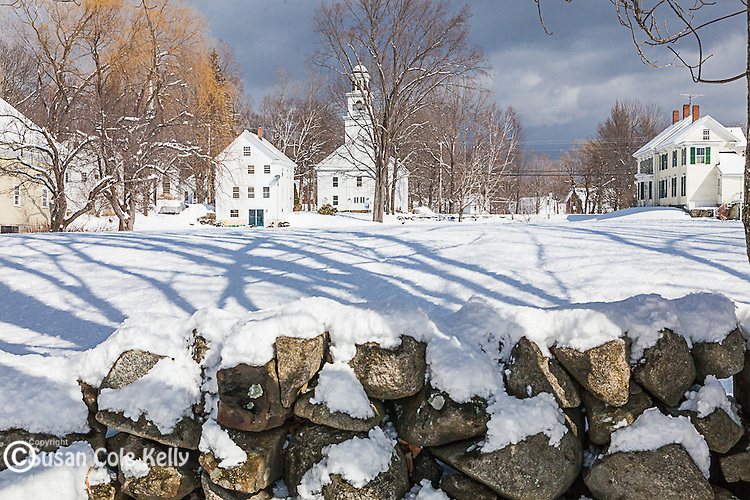 The village of Center Sandwich, New Hampshire, USA