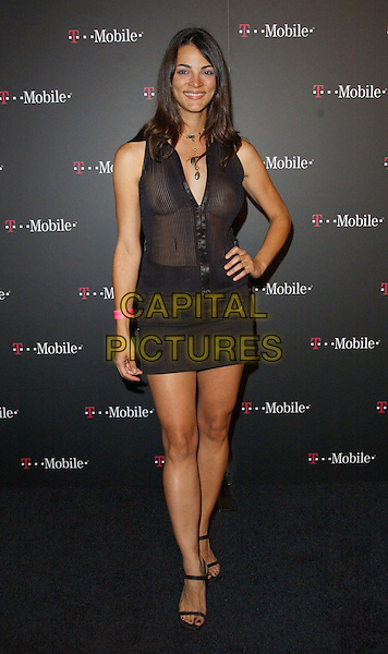 CAROLINA BACARDI.T-Mobile Action Sports Team's rooftop party held at the ArcLight Cinerama Rooftop .www.capitalpictures.com.sales@capitalpictures.com.©Capital Pictures..full length, full-length, see through, see thru, transparent top, nipples