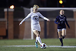 WINSTON-SALEM, NC - NOVEMBER 10: Wake Forest's Vicky Krug (GER). The Wake Forest University Demon Deacons hosted the Georgetown University Hoyas on November 10, 2017 at W. Dennie Spry Soccer Stadium in Winston-Salem, NC in an NCAA Division I Women's Soccer Tournament First Round game. Wake Forest advanced 2-1 on penalty kicks after the game ended in a 0-0 tie after overtime.