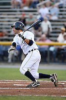 July 7th 2008:  Ben Guez of the Oneonta Tigers, Class-A affiliate of Detroit Tigers, during a game at Damaschke Field in Oneonta, NY.  Photo by:  Mike Janes/Four Seam Images