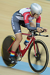 Leung Hoi Wai of the SCAA competes in the Women Elite - Individual Pursuit Qualifying category during the Hong Kong Track Cycling National Championships 2017 at the Hong Kong Velodrome on 18 March 2017 in Hong Kong, China. Photo by Chris Wong / Power Sport Images