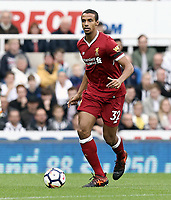 Liverpool's Joel Matip<br /> <br /> Photographer Rich Linley/CameraSport<br /> <br /> The Premier League -  Newcastle United v Liverpool - Sunday 1st October 2017 - St James' Park - Newcastle<br /> <br /> World Copyright &copy; 2017 CameraSport. All rights reserved. 43 Linden Ave. Countesthorpe. Leicester. England. LE8 5PG - Tel: +44 (0) 116 277 4147 - admin@camerasport.com - www.camerasport.com