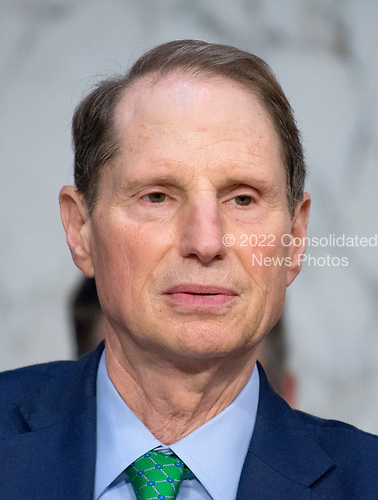 United States Senator Ron Wyden (Democrat of Oregon) listens to testimony before the US Senate Select Committee on Intelligence on the Russian intervention in the 2016 Presidential election on Capitol Hill in Washington, DC on Wednesday, June 28, 2017.<br /> Credit: Ron Sachs / CNP
