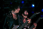 Gene Simmons & Mark St. John of KISS