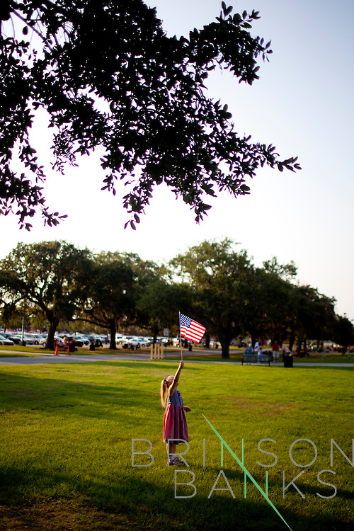 The 4th of July at Harbor Island, South Carolina with the Banks family, 2011.