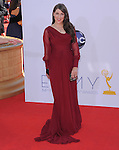Mayim Bialik. at The 64th Anual Primetime Emmy Awards held at Nokia Theatre L.A. Live in Los Angeles, California on September  23,2012                                                                   Copyright 2012 Hollywood Press Agency