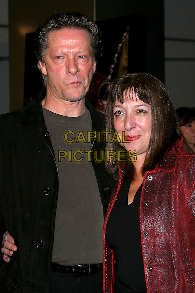 "CHRIS COOPER & MARIANNE (WIFE).The World Premiere of ""Jarhead"" .held at the Arclight Theatre, Hollywood  CA..October 25th, 2005.Photo credit: Jacqui Wong/AdMedia/Capital Pictures.Ref: JW/ADM.half length married husband wife.www.capitalpictures.com.sales@capitalpictures.com.© Capital Pictures."