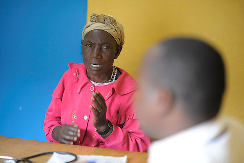 A patient at Giseny District Hospital,Rwanda