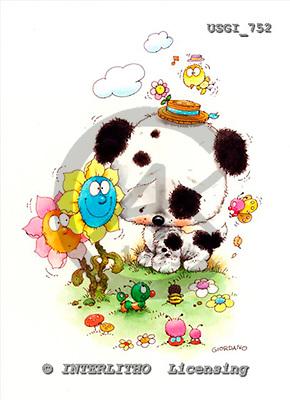 GIORDANO, CHILDREN BOOKS, BIRTHDAY, GEBURTSTAG, CUMPLEAÑOS, humor, paintings+++++,USGI752,#BI#,#H# ,everyday ,everyday