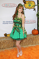 UNIVERSAL CITY, CA - OCTOBER 21:  Bella Thorne at the Camp Ronald McDonald for Good Times 20th Annual Halloween Carnival at the Universal Studios Backlot on October 21, 2012 in Universal City, California. ©mpi28/MediaPunch Inc. /NortePhoto