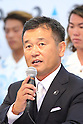 Atsushi Sakai, <br /> AUGUST 4, 2016 - Surfing : <br /> Nippon Surfing Association holds a press conference after it was decided that <br /> the sport of surfing would be added to the Tokyo 2020 Summer Olympic Games on August 3rd, 2016 <br /> in Tokyo, Japan. <br /> (Photo by AFLO SPORT)