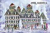 Isabella, CHRISTMAS LANDSCAPES, WEIHNACHTEN WINTERLANDSCHAFTEN, NAVIDAD PAISAJES DE INVIERNO, paintings+++++,ITKE512495-L,#xl#