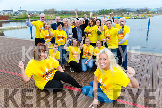 """The launch of the Pieta House """"Darkness into Light"""" 5km walk/runs in Tralee, Listowel, Killarney, Kenmare, Dingle, Cahirciveen and Caherdaniel. at the wetlands on Tuesday"""
