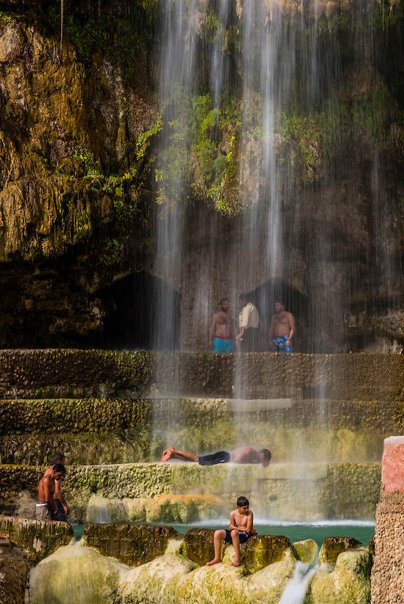 Ma'in Hot Springs, between Madaba and the Dead Sea, Jordan.