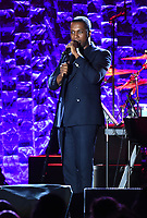 NEW YORK - JANUARY 27: Leslie Odom Jr. performs at the 2018 Clive Davis Pre-Grammy Gala at the Sheraton New York Times Square on January 27, 2018 in New York, New York. (Photo by Frank Micelotta/PictureGroup)