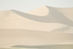Mesquite Dunes in sand storm, Death Valley National Park, Calif.