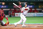 Atsunori Inaba (JPN), .MARCH 3, 2013 - WBC : .2013 World Baseball Classic .1st Round Pool A .between Japan 5-2 China .at Yafuoku Dome, Fukuoka, Japan. .(Photo by YUTAKA/AFLO SPORT)