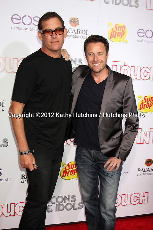 "LOS ANGELES - SEP 6:  Chris Harrison arrives at the ""Icons and Idols"" Party  at Chateau Marmont on September 6, 2012 in Los Angeles, CA"