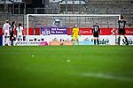 16.03.2019, Stadion Essen, Essen, GER, AFBL, SGS Essen vs TSG 1899 Hoffenheim, DFL REGULATIONS PROHIBIT ANY USE OF PHOTOGRAPHS AS IMAGE SEQUENCES AND/OR QUASI-VIDEO<br /> <br /> im Bild | picture shows:<br /> Marith Priessen (FFC Frankfurt #13) trifft per Elfmeter zum 3:2, <br /> <br /> Foto &copy; nordphoto / Rauch
