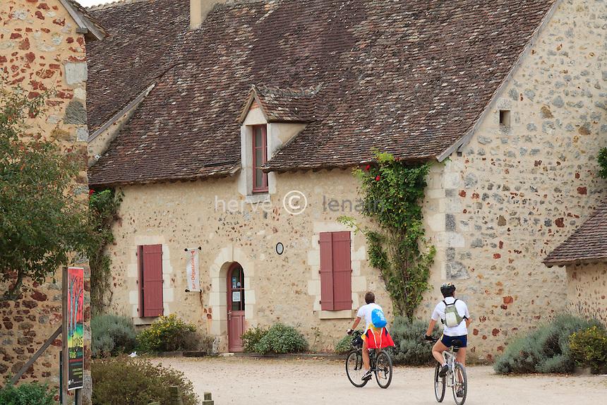 France, Indre (36), parc naturel régional de la Brenne, Rosnay, hameau du Bouchet, la Maison du Parc // France, Indre, Natural Parc of the Brenne, Rosnay, hamlet of the Bouchet, the Parc House