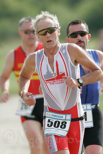 08 JUL 2007 - WAKEFIELD, GBR - Graham Plews - British Age Group Triathlon Championships. (PHOTO (C) NIGEL FARROW)
