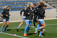 Bridgeview, IL - Saturday April 22, 2017: Julie Ertz during a regular season National Women's Soccer League (NWSL) match between the Chicago Red Stars and FC Kansas City at Toyota Park.