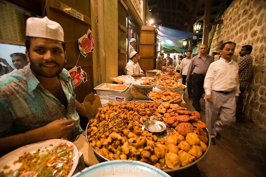 Bur Dubai Souq. Samosas and other Indian style fries.