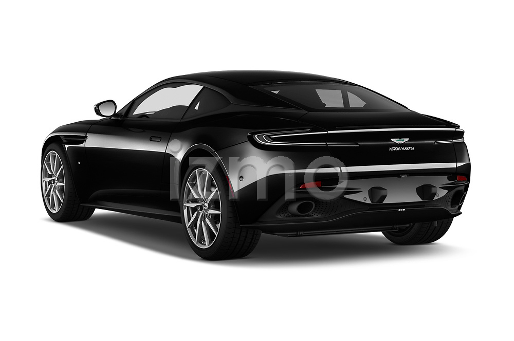Car pictures of rear three quarter view of a 2016 Astonmartin DB11 Base 2 Door Coupe angular rear