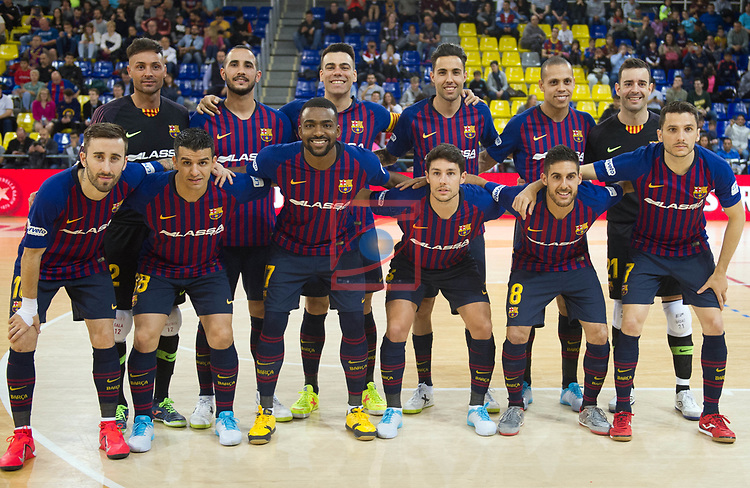 League LNFS 2018/2019 - Game 29.<br /> FC Barcelona Lassa vs Viña Albali Valdepeñas: 5-1.
