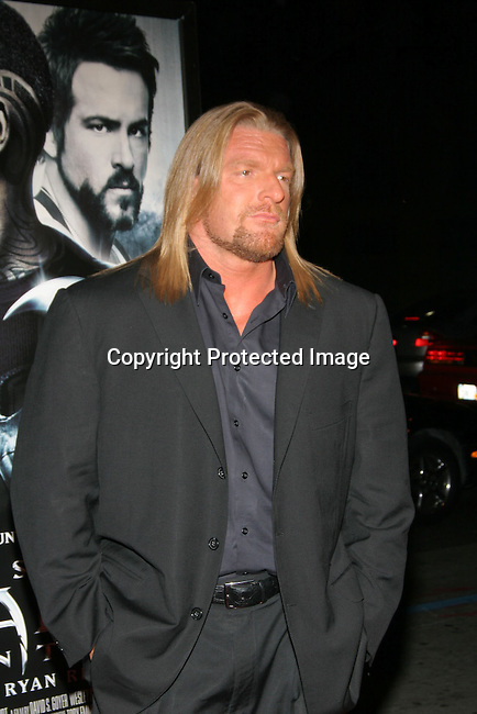 Triple H<br />&quot;Blade: Trinity&quot; Premiere <br />Grauman&rsquo;s Chinese Theatre<br />Hollywood, CA, USA<br />Tuesday, December 7th, 2004<br />Photo By Celebrityvibe.com/Photovibe.com, <br />New York, USA, Phone 212 410 5354, <br />email: sales@celebrityvibe.com