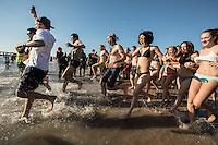 Annual  Coney Island Polar Bear Day Swim 2017
