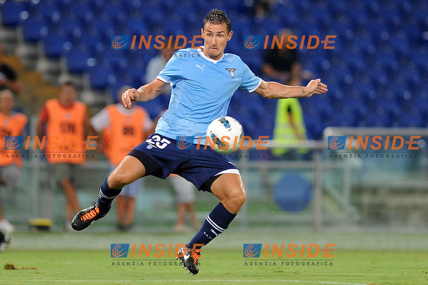 "miroslav klose (lazio)..Roma 18/8/2011 Stadio ""Olimpico""..Europa League..Football Calcio Lazio Rabotnicki..Foto Insidefoto Massimo Oliva"