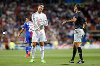 Cristiano Ronaldo of Real Madrid during the Champions League group B soccer match between Real Madrid and FC Basel 1893 at Santiago Bernabeu Stadium in Madrid, Spain. September 16, 2014. (ALTERPHOTOS/Caro Marin) /NortePhoto.com