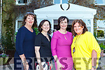 Pictured at the opening of Women in Media at Kilcooly House in Ballybunion on Friday evening from l-r were: Barbara Scully (Accenture), Cliona McCusker (Women's Reboot), Siobhan Maughan (Women's Reboot) and Claire Ronan (Ocean FM).