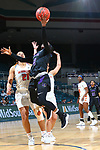 KATY- MARCH 14: University Central Arkansas v Sam Houston State University at Merrell Center in Katy on March 14, 2019 at Southland Conference Basketball Championship. (Photo by Rick Yeatts )