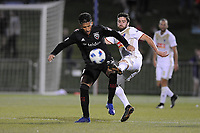 Boyds, MD. - June 5, 2018: D.C. United defeated the North Carolina FC 4-3 in penalty kicks after playing a 1-1 draw in regulation time in the fourth round of the 2018 Lamar Hunt U.S. Open Cup at the Maryland SoccerPlex.