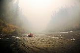 USA, Oregon, Wild and Scenic Rogue River in the Medford District, rafting near Hewitt Creek