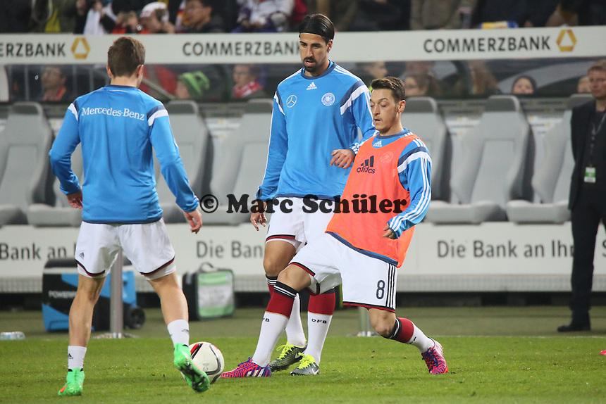 Thomas Mueller, Sami Khedira, Mesut Oezil - Deutschland vs. Australien, Fritz-Walter-Stadion Kaiserslautern